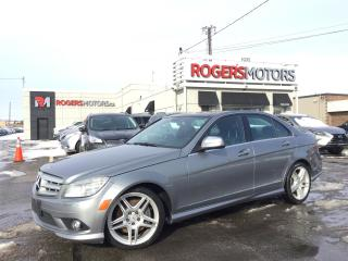Used 2009 Mercedes-Benz C350 4MATIC - NAVI - PANO ROOF - LEATHER for sale in Oakville, ON