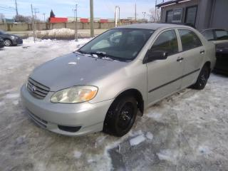 Used 2003 Toyota Corolla 4DR SDN for sale in Longueuil, QC