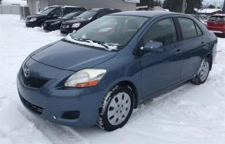 Used 2009 Toyota Yaris 4dr Sdn+VITRE+AIR for sale in Notre-Dame-Des-Prairies, QC