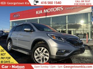 Used 2015 Honda CR-V EX-L AWD | CLEAN CARFAX | LEATHER | ROOF | BU CAM for sale in Georgetown, ON