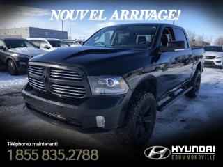 Used 2013 RAM 1500 SPORT + CREWCAB + GARANTIE + MAGS 20 PO for sale in Drummondville, QC