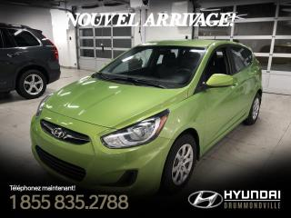 Used 2014 Hyundai Accent GL + GARANTIE + A/C + SIÈGES CHAUFFANTS for sale in Drummondville, QC