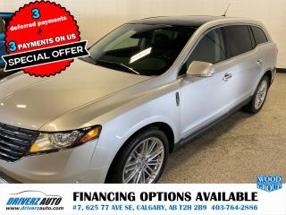 Used 2019 Lincoln MKT Reserve ADAPTIVE CRUISE, BLIND SPOT MIRRORS. for sale in Calgary, AB