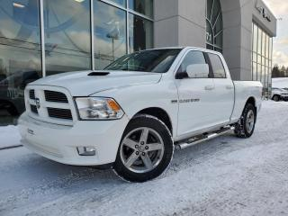 Used 2012 RAM 1500 SPORT , QUAD , BANC CHAUFFANT , NAV  87$ for sale in Ste-Agathe-des-Monts, QC