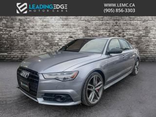 Used 2017 Audi A6 3.0T Competition 360 Camera, Diamond Stitch Seats for sale in Woodbridge, ON