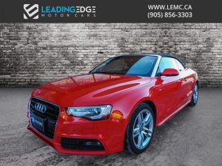 Used 2015 Audi A5 2.0T Technik Convertible for sale in Woodbridge, ON