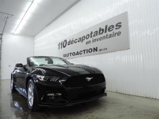 Used 2017 Ford Mustang V6 DÉCAPOTABLE - CAMÉRA RECUL for sale in St-François-Du-Lac, QC