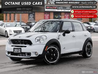 Used 2012 MINI Cooper Countryman S AWD! for sale in Scarborough, ON