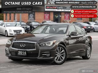Used 2014 Infiniti Q50 Premium Accident-Free! AWD! Certified! for sale in Scarborough, ON