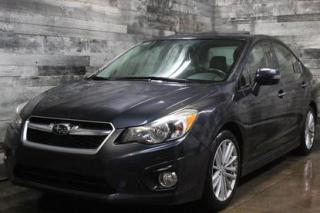 Used 2012 Subaru Impreza LIMITED, AWD, MANUELLE, SIÈGE EN CUIR ET CHAUFFANT for sale in St-Sulpice, QC