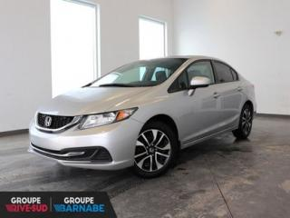 Used 2015 Honda Civic EX*MAG*TOIT*CAMERA*ECRAN bas kilometrage for sale in Brossard, QC