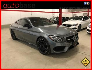 Used 2018 Mercedes-Benz C-Class C43 AMG 4MATIC COUPE AMG NIGHT EDITION DISTRONIC AMG DRIVER PREMIUM for sale in Vaughan, ON