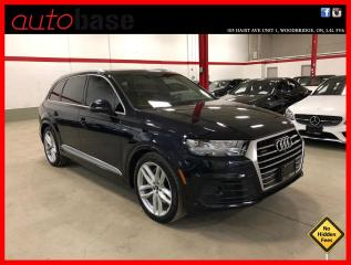 Used 2017 Audi Q7 TECHNIK S-LINE SPORT BANG OLUFSEN NIGHT VISION LUXURY DYNAMIC RIDE for sale in Vaughan, ON