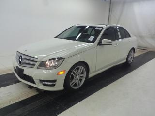Used 2012 Mercedes-Benz C-Class C250 4MATIC | AWD | SUNROOF | 85,000KM | LEATHER ! for sale in Burlington, ON