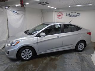 Used 2015 Hyundai Accent GL for sale in Ancienne Lorette, QC