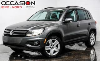 Used 2016 Volkswagen Tiguan Comfortline 4motion CUIR+TOIT.PANO+CAM.RECUL for sale in Boisbriand, QC