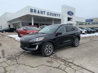 New 2020 Ford Escape Titanium Hybrid for sale in Brantford, ON