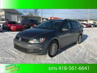Used 2016 Volkswagen Golf Highline* cuir , toit , 8 pneus* for sale in St-Agapit, QC