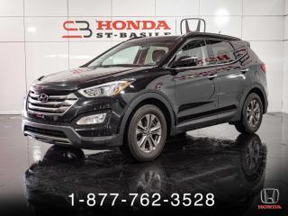 Used 2015 Hyundai Santa Fe Sport LUXURY + GARANTIE + AWD + CUIR + WOW! for sale in St-Basile-le-Grand, QC