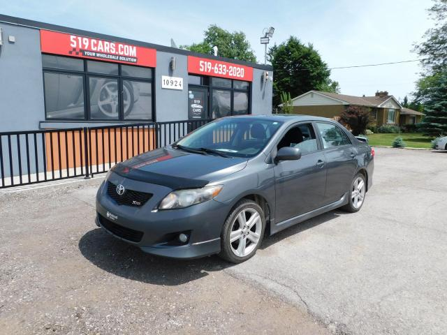2010 Toyota Corolla XRS|SUNROOF|2 SETS OF TIRES|AUX