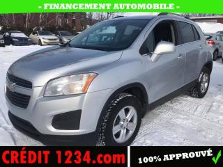 Used 2014 Chevrolet Trax LT 4 portes à transmission intégrale ave for sale in Lévis, QC