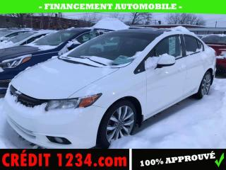 Used 2012 Honda Civic 4 portes, boîte manuelle, Si for sale in Lévis, QC