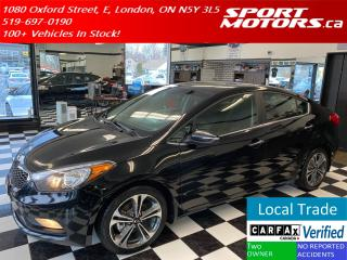 Used 2014 Kia Forte EX GDI+Camera+Heated Seats+Bluetooth+Cruise+XM+A/C for sale in London, ON