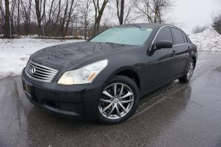 Used 2008 Infiniti G35 1 OWNER / NAVIGATION / NO ACCIDENTS / IMMACULATE for sale in Etobicoke, ON