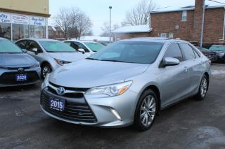 Used 2015 Toyota Camry XLE HYBRID for sale in Brampton, ON