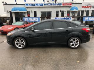 Used 2013 Ford Focus Titanium- Navi- Rear view camera- Accident free for sale in Stoney Creek, ON