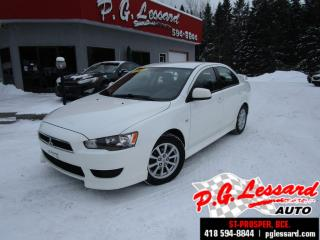 Used 2011 Mitsubishi Lancer Se automatique siege chauffant mags aileron for sale in St-Prosper, QC