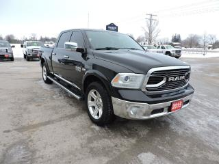 Used 2015 RAM 1500 Laramie Limited. Navigation. New tires for sale in Gorrie, ON
