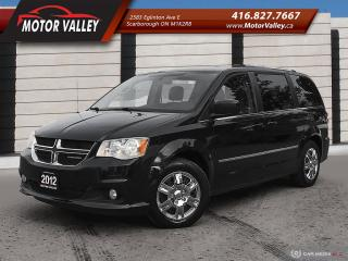 Used 2012 Dodge Grand Caravan Crew Plus LEATHER - NAVIGATION -SunRoof! for sale in Scarborough, ON