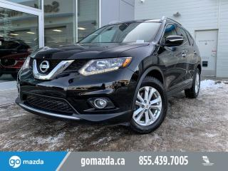 Used 2015 Nissan Rogue SV - FWD,PUSH BUTTON ,MOON ROOF, BACK UP CAM HEATED SEATS for sale in Edmonton, AB