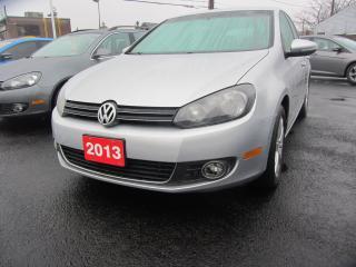 Used 2013 Volkswagen Golf COMFORTLINE for sale in Hamilton, ON
