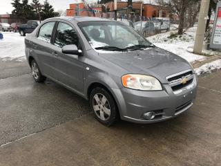 Used 2008 Chevrolet Aveo AUTO,85KM,S/ROOF,SAFETY+3YEARS WARRANTY INCLUDED for sale in Toronto, ON