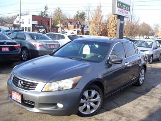 Used 2010 Honda Accord EX-L,FULLY LOADED,LEATHER,ALLOYS,TINTED,CERTIFIED for sale in Kitchener, ON