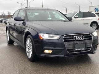 Used 2014 Audi A4 Quattro 6 Speed Manual Navigation for sale in Oakville, ON