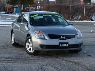 Used 2008 Nissan Altima LEATHER, 2.5SL,NO-ACCIDENT,HEATED SEAT,FULL OPTION for sale in Mississauga, ON