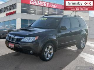 Used 2010 Subaru Forester 5dr Wgn Auto 2.5XT Limited for sale in Grimsby, ON