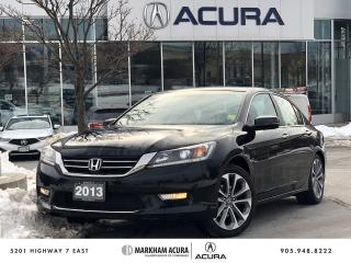 Used 2013 Honda Accord Sport CVT Sedan for sale in Markham, ON