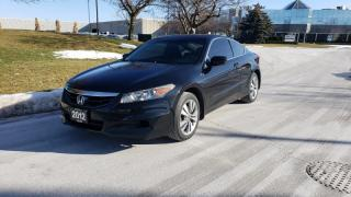 Used 2012 Honda Accord 2dr I4 Man EX-L w/Navi | Accident Free | 2 Owners for sale in Vaughan, ON