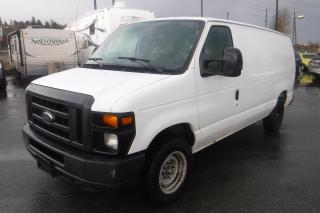 Used 2013 Ford Econoline E-250 Cargo Van with Rear Shelving for sale in Burnaby, BC