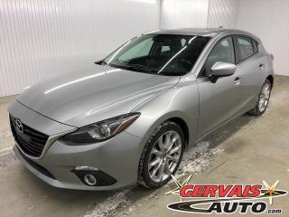 Used 2015 Mazda MAZDA3 GT Sport GPS Toit Ouvrant Caméral MAGS for sale in Trois-Rivières, QC