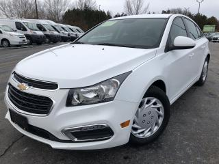 Used 2016 CHEV CRUZE LIMITED 1LT 2WD for sale in Cayuga, ON