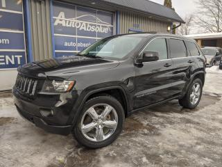 Used 2012 Jeep Grand Cherokee Laredo +  cuir + toit + caméra + navi for sale in Boisbriand, QC
