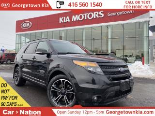 Used 2015 Ford Explorer SPORT | NAVI | PANO ROOF | AWD | LEATHER | B/U CAM for sale in Georgetown, ON