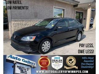 Used 2016 Volkswagen Jetta Sedan Trendline *Local MB Unit/B.tooth/B.Cam/Htd Seats for sale in Winnipeg, MB