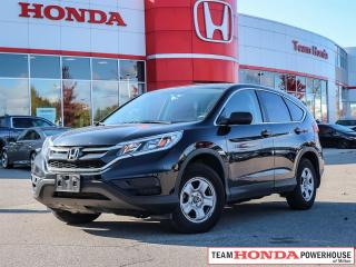 Used 2015 Honda CR-V LX--1 Owner 2WD w/Full Recondition Completed for sale in Milton, ON