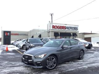 Used 2016 Infiniti Q50 SPORT 3.0t AWD - NAVI - SUNROOF - 360 CAMERA for sale in Oakville, ON